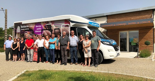 Photo camping car GERS SOLIDAIRE article